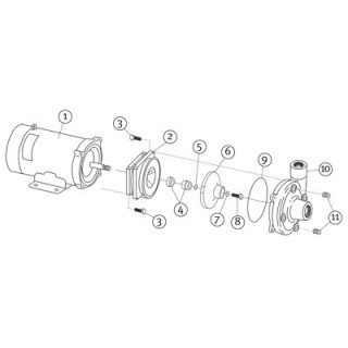dc 10 pump parts Leeson Motor Wiring Schematic burks dc 10 heavy duty 12v pump parts\u2014replacement brushes for leeson motor