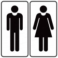 Restroom Decals and Signs