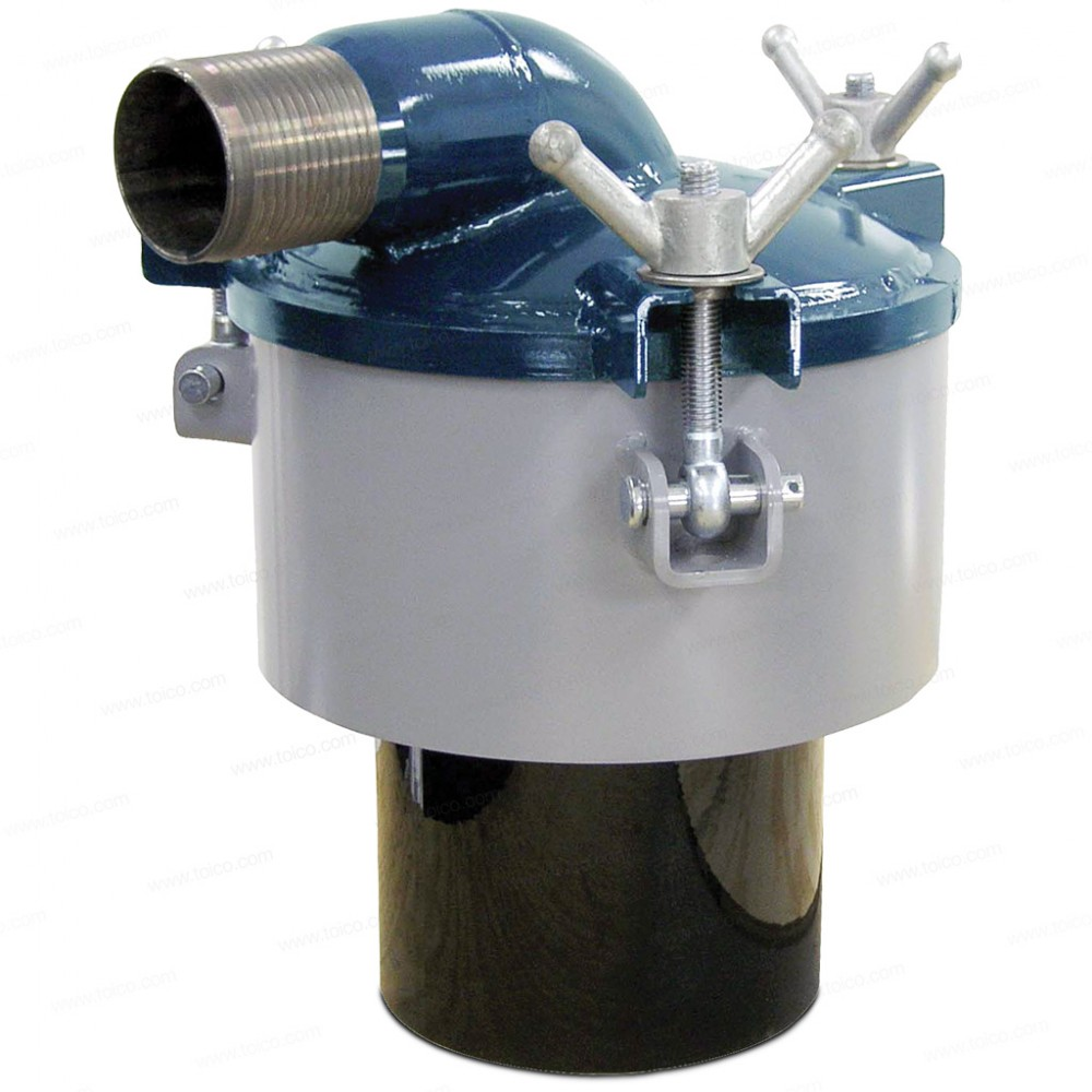 """6/"""" STAINLESS STEEL FLOAT BALL SS PRIMARY SECONDARY SCRUBBER SHUT OFF"""