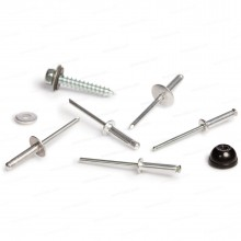 """Rivets and Hardware—1.5"""" Hex Head Screw with Sealer Washer"""