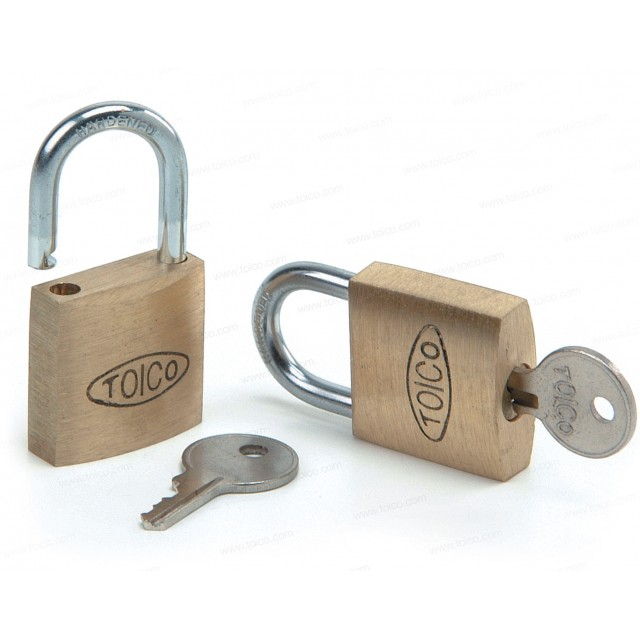 TOICO Padlock and Key