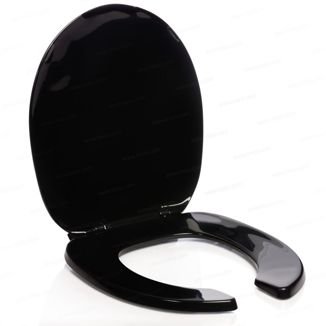 Toilet Seat And Lid Standard Or Oblong Black