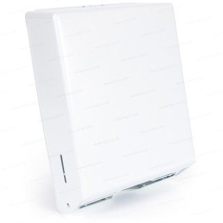 White Enamel Towel Dispenser